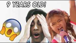 Angelica Hale: 9-Year-Old Earns Golden Buzzer From Chris Hardwick - Reaction!