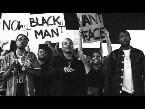 Black lives matter tribute