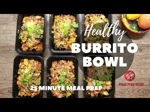 Healthy burrito bowl recipe – Fresh, flavorful ideal for large groups