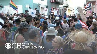 Protesters trap legislators in community center as Puerto Rico braces for massive protest