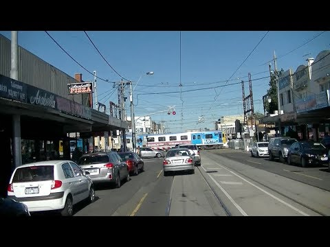 Driver's View Rt. 67 Melb Uni to Carnegie Part 2