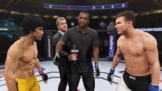 Bruce Lee vs. Myles Jury (EA Sports UFC 2) - CPU vs. CPU