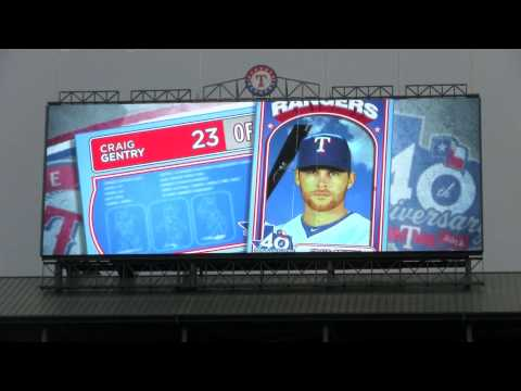 Texas Rangers starting lineup from July 7, 2012 vs Minnesota Twins