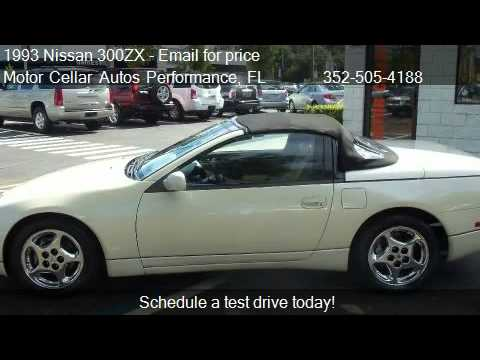 1993 nissan 300zx convertible for sale in gainesville fl youtube. Black Bedroom Furniture Sets. Home Design Ideas