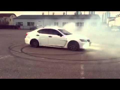 Lexus IS F drift