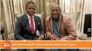 Solly Moholo quit ZCC Church and join Bushiri's ECG Church