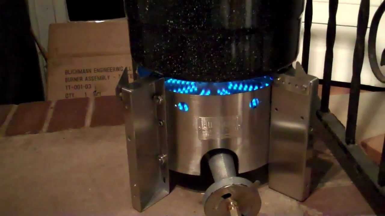 Great Blichmann Floor Burner In Action   YouTube