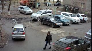 Видеонаблюдение за автомобилем во дворе