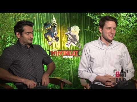 Kumail Nanjiani & Zach Woods   The LEGO Ninjago Movie