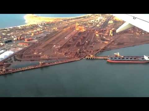 Flying into Port Hedland