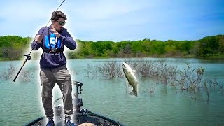 Searching For Big Bass Up Shallow w/ Jon B & LunkersTV