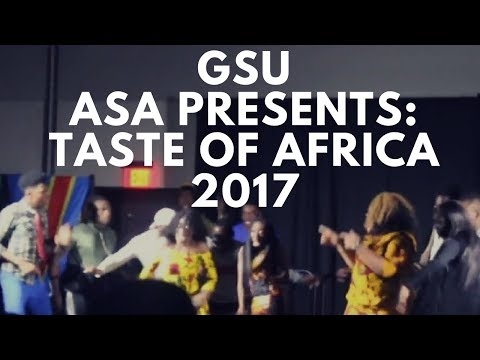 ASA TASTE OF AFRICA 2017 | Georgia State University