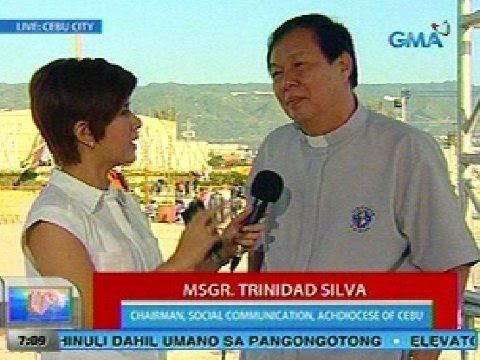 UB: Panayam kay Msgr. Trinidad Silva, Chairman, Social Communication, Archdiocese of Cebu