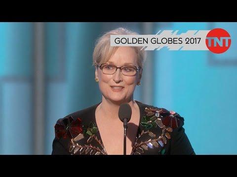 TNT SERIE | MERYL StREEPS REDE BEI DEN GOLDEN GLOBES 2017