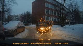 Разъезд во дворе.... Правильные действия )))