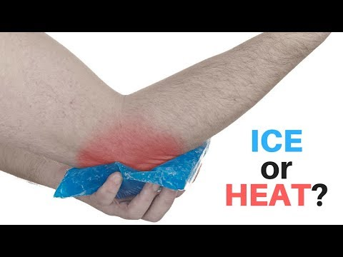 Should you use ice or heat after an injury?