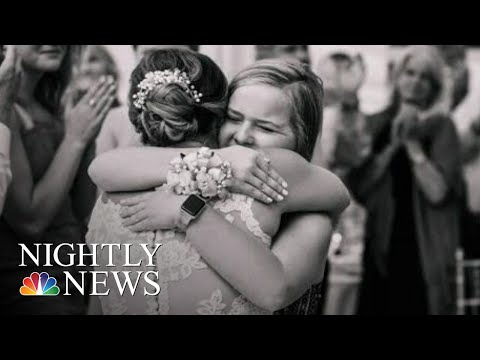 Bride And Wedding Guest Meet For First Time After A life-Saving Gift | NBC Nightly News