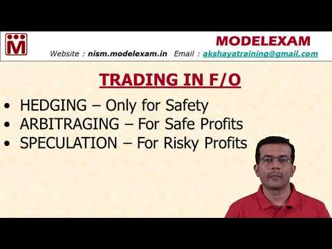 What is the difference between Hedging, Speculation and Arbitraging ?