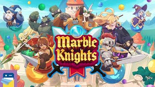 Marble Knights: iOS Apple Arcade Gameplay Part 1 (by WayForward)