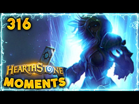 That has to be the Best Play Ever!!   Hearthstone Daily Moments Ep. 316 (Funny and Lucky Moments)
