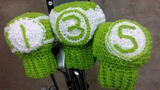 Golf Club Covers Crochet Tutorial