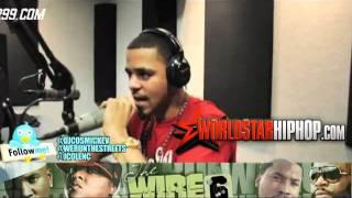 "J.Cole 2011 Power 99 Freestyle ""Ima Boss"" & ""Otis"" Cole World"