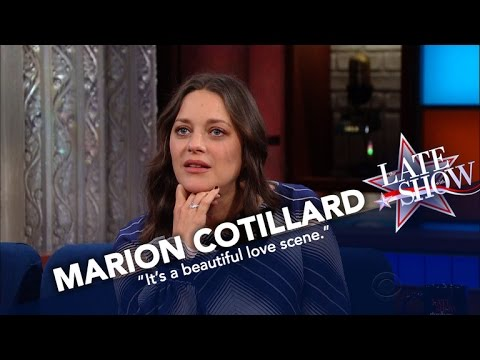 Marion Cotillard Says Sex Scenes With Brad Pitt Were 'Not Awkward'