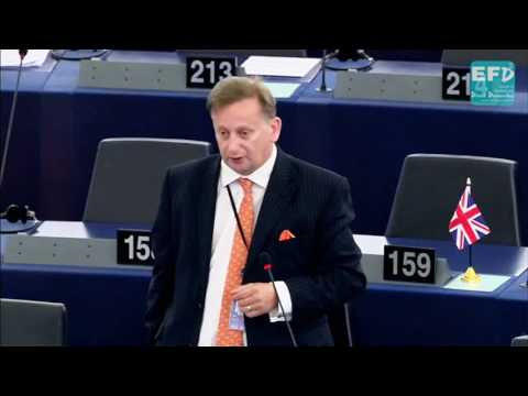 There is no such thing as EU funding - Raymond Finch MEP