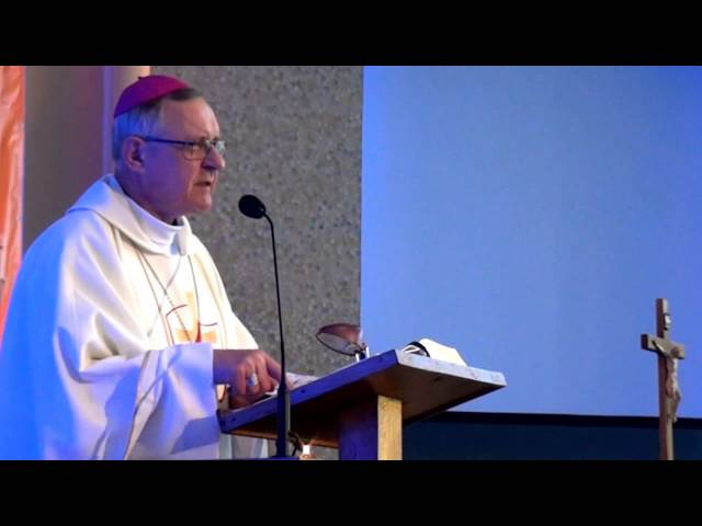 Homilia bp Edward Dajczak - 6 dzień -  piątek -  Przystanek Jezus 2015