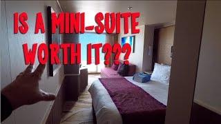 Cruise Ship Mini-Suite vs Balcony on the NCL Escape