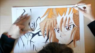 Speed Drawing Yu Gi Oh! Gx