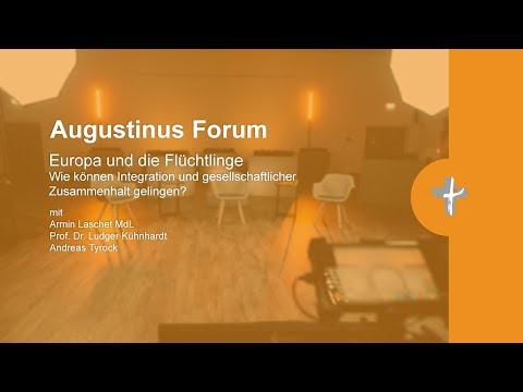 """Augustinus Forum """"Europa und die Flüchtlinge"""""""