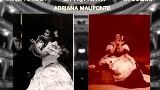 """Adriana Maliponte-La Traviata """"Addio, del passato"""" (Live, Marseille, 1984)"""