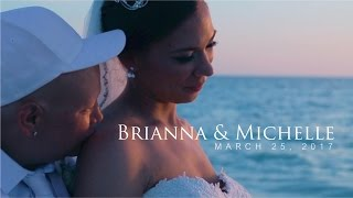 After More Than A Decade of Love, Brianna and Michelle Tie The Knot On The Beach