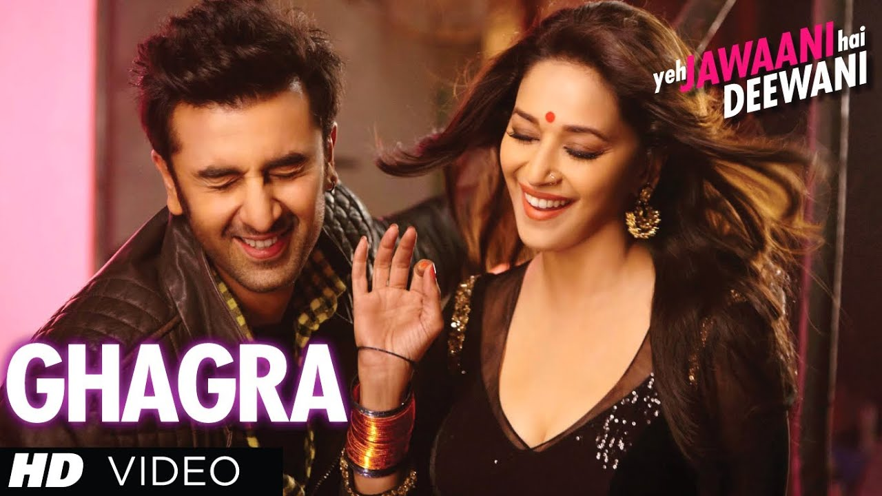 """Ghagra Yeh Jawaani Hai Deewani"" Latest Full Video Song ...  ""Ghagra Ye..."