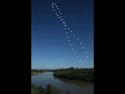 The Solar Analemma over Edmonton