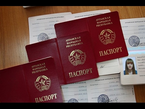 Putin orders Russia to recognize passports issued by Kremlin-backed terrorists in eastern Ukraine.