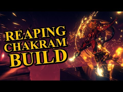 Warframe Builds - Nezha - Reaping Chakram Build