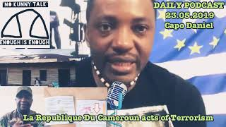 La Republique Du Cameroun acts of Terrorism