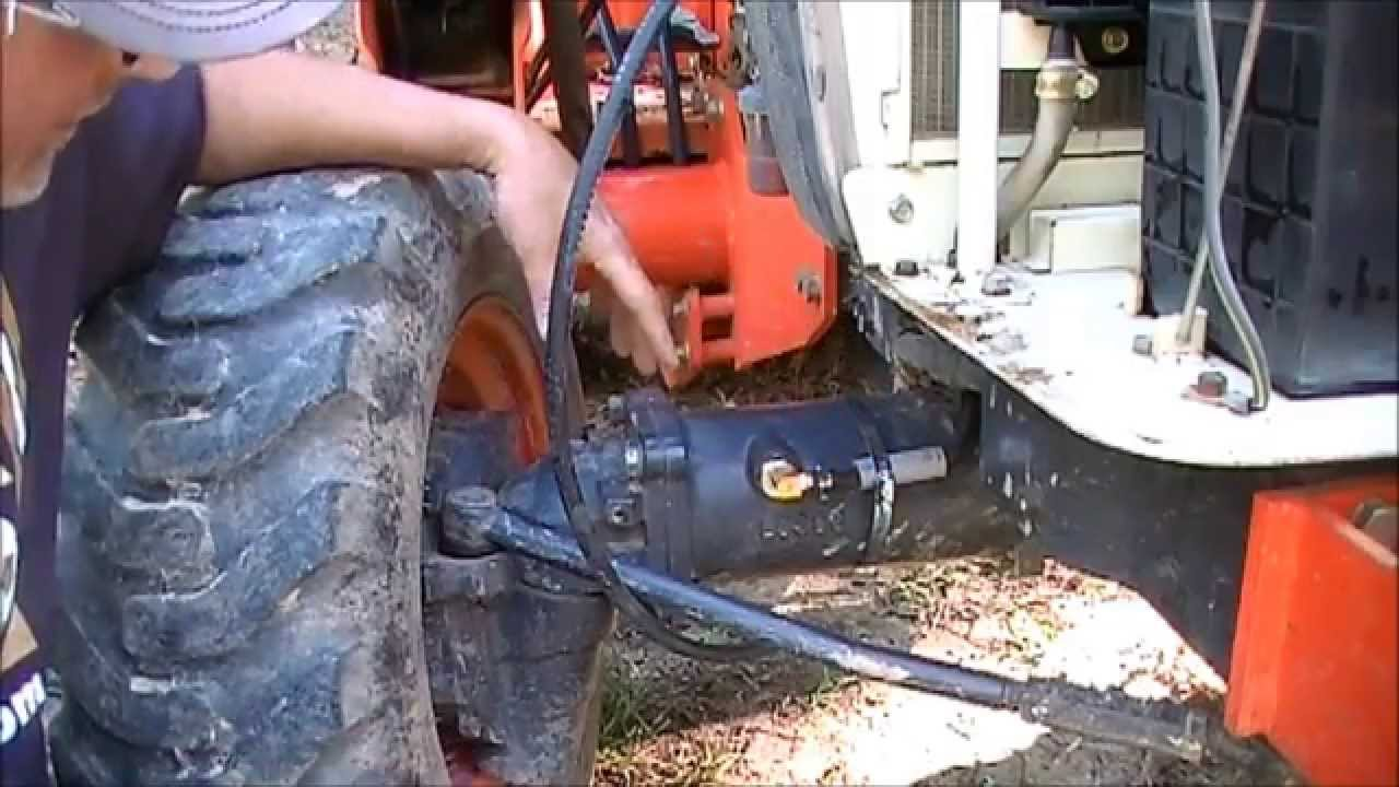 fail venting the front axle on a kubota tractor final results fail