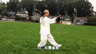 32式太極拳背向 (2013.09.14)