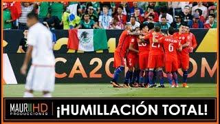 Chile 7 v/s México 0 - Relatos Mexicanos  ¡Humillación total!