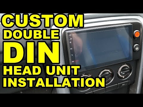 MG ZS 180 - Custom 2-DIN Head Unit Installation
