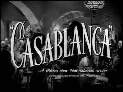 Casablanca Humphrey Bogart, Ingrid Bergman, Paul Henreid, Claude Rains