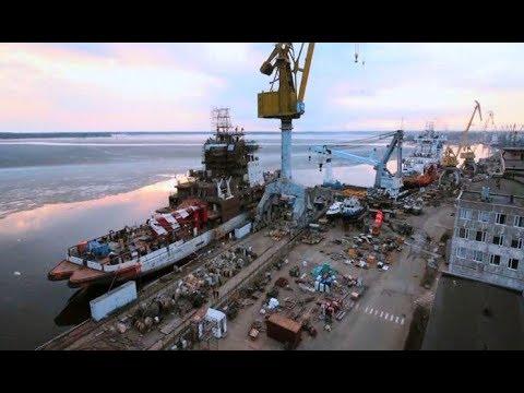 Выборгский судостроительный завод. Место, где строят мощные ледоколы для Ямала