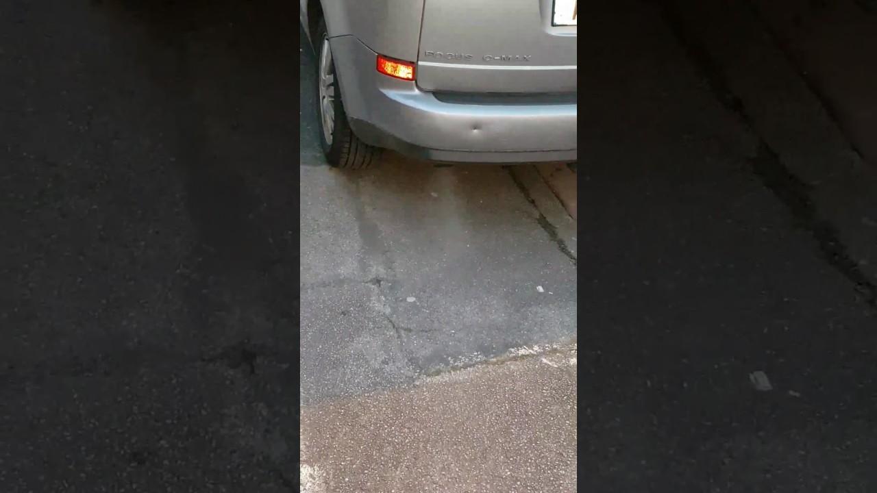 Faible Fumée blanche moteur froid - YouTube