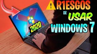 ❌R1ESGOS de Utilizar WINDOWS 7 en 2020 / Seguridad CRITICA😮