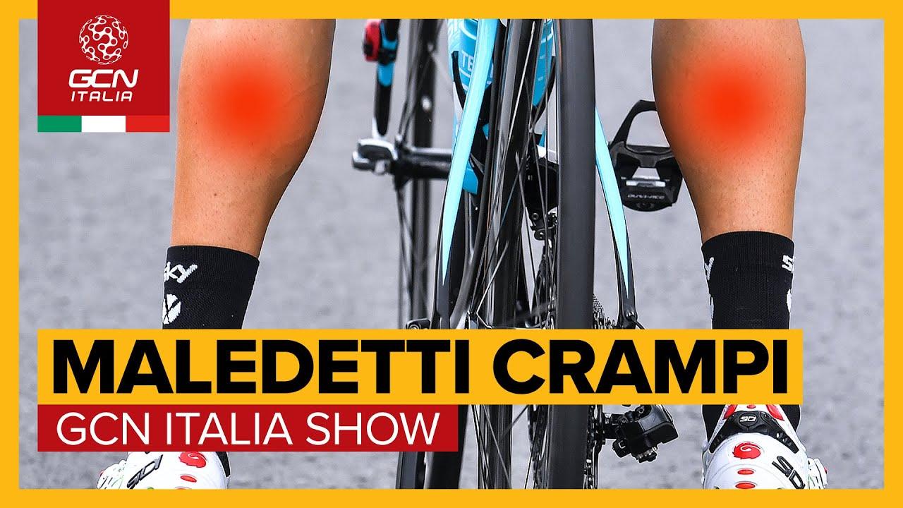 Cosa sono i crampi e perché vengono? | GCN Italia Show 134