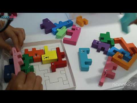IQ TOYS #2 Warm up the day with an easy wooden puzzle