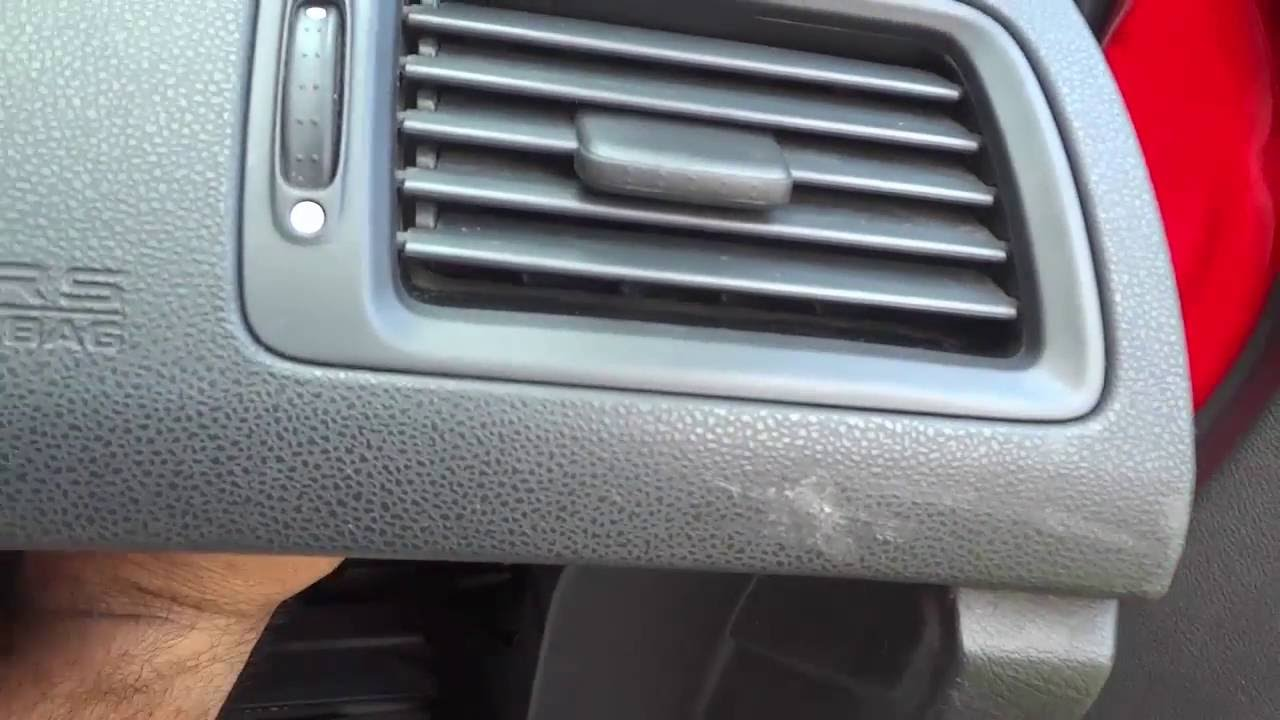 How To Remove Air Vents On A Honda Civic (8th Gen 2006-2011) - YouTube